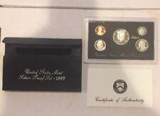 1997 US MINT Silver Proof Set S Mark