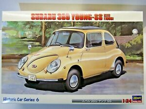Hasegawa 1:24 Scale Subaru 360 Young-SS K111 (1968) Model Kit - New - # 21206