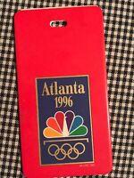 1996 Atlanta Olympics NBC LUGGAGE TAG NICE