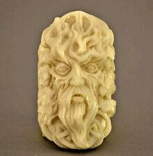 GREEN MAN SOAP SILICONE MOLD RESIN PLASTER CLAY WAX  CELTIC