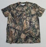 True Timber MC2 Camo Hunting Short Sleeve T-Shirt Camouflage Men's Large YG