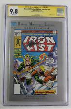 CGC Graded 9.8 Marvel Milestone Ed. Iron Fist 14, 1992 NM Signed Chris Claremont