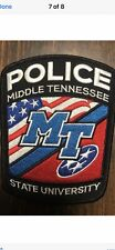 Middle Tennessee State University Police Patch