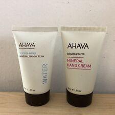 2x Ahava Deadsea Water Mineral Hand Cream Travel Size 1.3oz/40ml New
