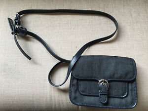 Michael Kors Navy Denim Shoulder Bag. New with tags.