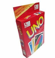 1Box Standard Fun 108 UNO Playing Cards Game Travel Family Friends Instruction