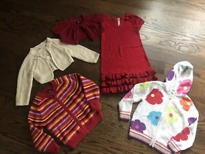 Hanna Anderson Gap Kids Gymboree Girls Clothes size 4-6 A Lot