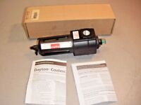 "Dayton Speedaire 4ZL46 Standard Pneumatic 1/2"" NPT Oil Removal Filter 150 PSI"
