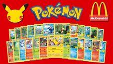 Carte Pokemon 25th Anniversary/25 anniversario McDonald's 2021 - Scegli le carte