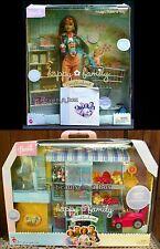 Happy Family Midge Nikki & Baby Barbie Doll Shopping Fun Playset Store