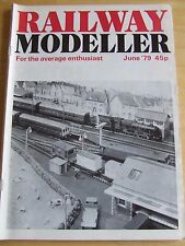 RAILWAY MODELLER MAGAZINE JUN 1979 SIDBURY LNWR MINIATURE RAILWAY ATTRACTIONS