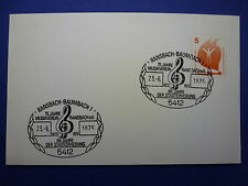 LOT 12534 TIMBRES STAMP ENVELOPPE MUSIQUE ALLEMAGNE ANNEE 1975