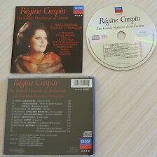 RARE CD REGINE CRESPIN DES GRANDS MOMENTS DE SA CARRIERE AIRS D'OPERAS 1989