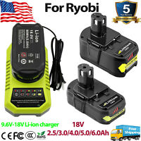 18Volt For RYOBI P108 18V One+ Plus High Capacity Lithium-Ion Battery or Charger