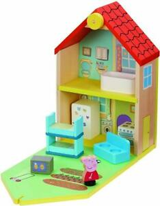 PEPPA PIG WOODEN FAMILY HOME PLAYSET HOUSE FURNITURE ACCESSORIES