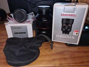 Samyang AF 85 F1.4 Fe Sony + Samyang Lens Station