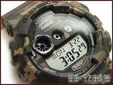 CASIO G-Shock GD120CM-5 GD-120CM-5 Military Camouflage Green Limited !