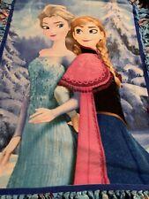"""Frozen Sisters Forever Fleece 50""""x34"""" Heavy"""