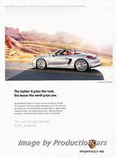 2012 2013 Porsche Boxster - Original Advertisement Print Art Car Ad J672