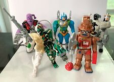 """Bandai Power Rangers 5"""" Evil space Aliens series 4 action figures lot used"""