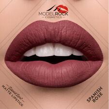 MODELROCK Spanish Rose - Muted Red Liquid Matte Lipstick Vegan Made in USA Nude