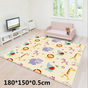 Portable Children Double-sided Folding Crawling Mat Baby Indoor Outdoor Play Mat