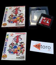 GANBARE GOEMON: TENGU-TO NO GYUAKUSHU! Konami Game Boy Color GBC JAP