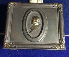 G. Washington, cedar-lined, brassed cigarette box