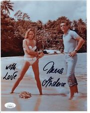 Ursula Andress Actress James Bond Signed / Inscribed 8x10 Photo - JSA COA