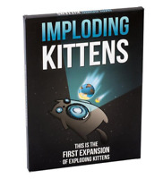 IMPLODING KITTENS GREAT PARTY GAME Perfect Birthday Gift! Brand New! EXPANSION