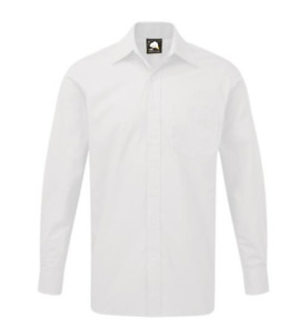 larger mens long sleeve oxford cotton shirts 4XL 5XL 6XL 7XL