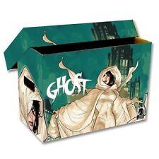 BCW Short Cardboard Comic Book Storage Box with Ghost Art Design