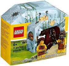 LEGO 5004936 Iconic Cave Set - Caveman and Cavewoman Minifigures - Exclusive!!!