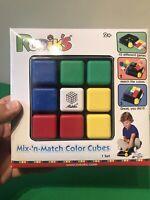 Magic Cube Rubik's Mix 'n Match Colour Cubes Age 2+