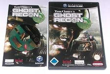 "GAMECUBE SPIEL "" TOM CLANCY´S GHOST RECON "" KOMPLETT"