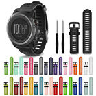 Soft Silicone Strap Watch Band With Tools For Garmin Fenix 3 HR/235 I 630 I 230