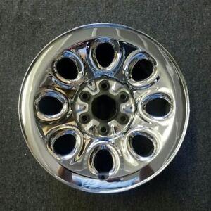 17'' CHROME CHEVY AVALANCHE SAVANA SIERRA 05-14 OEM Factory STEEL Wheel Rim 5223