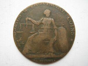 Warwickshire John Wilkinson Iron Master Halfpenny token F D&H 464