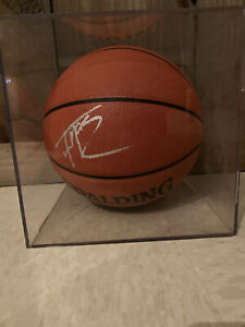 SIGNED TRACY McGRADY AUTHENTIC NBA BASKETBALL HOUSTON ROCKETS TORONTO RAPTORS