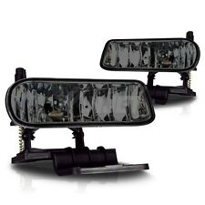 Fit for 2000-2006 Chevrolet Tahoe Fog Lights smoked set pair driving lights
