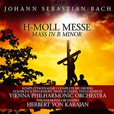 Messe CD Herbert Von Karajan H-Moll Messe von Johann Sebastian Bach 2CDs