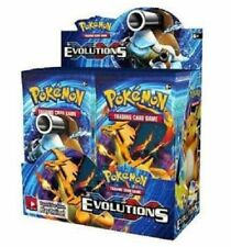10 Xy Evolutions Booster Pack Lot - Factory Sealed From Box Pokemon Cards