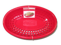 Coca-Cola Snack Lunch Serving Baskets (Set of 4) - NEW