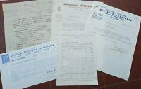 1933 139) PUBBLICITA' A RIMINI PRIMA DELLA GUERRA - LOTTO DI FATTURE