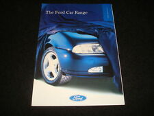 Probe 1996 Car Sales Brochures