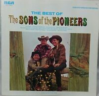 The best of the sons of the pioneers               LP Record