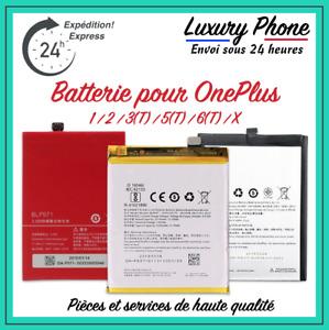 Batterie Interne OnePlus One+ 1 2 3 3T 5 5T 6 6T X 7 7T Pro Neuve Compatible ⚡️