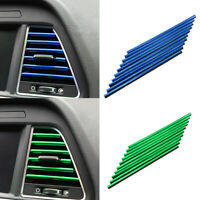 KQ_ DIY Interior Grille Decoration Air Conditioner U Shape Car Outlet Vent Strip