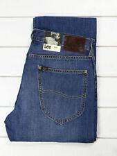 Indigo, Dark wash Classic Fit, Straight 36L Jeans for Men