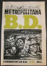 BD - L'HEBDO DE LA BD N°24 - TBE - Editions du Square - 20.03.1978